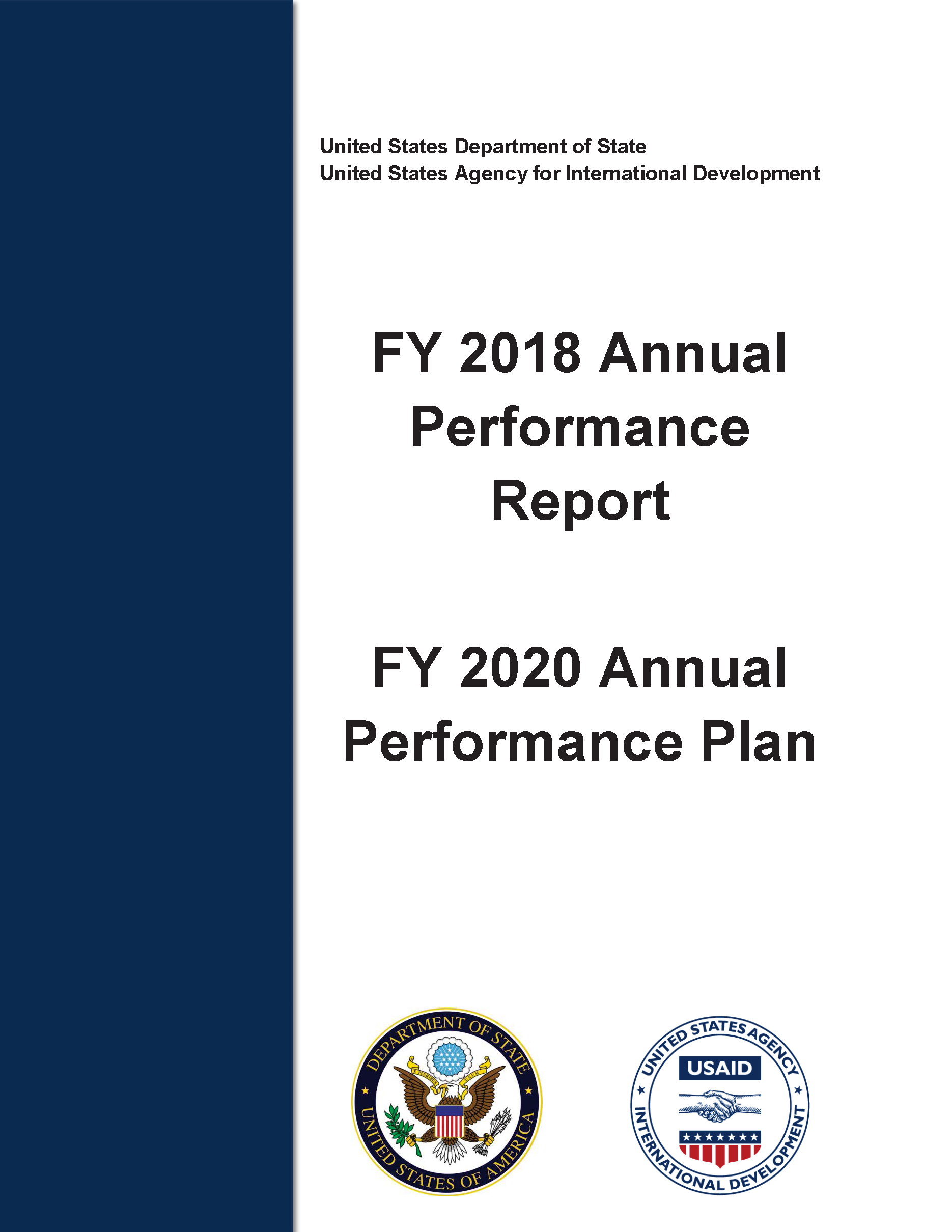 FY 2018 Annual Performance Report