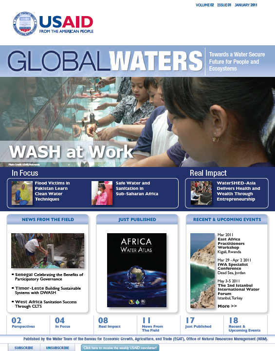 Global Waters – January 2011, PDF