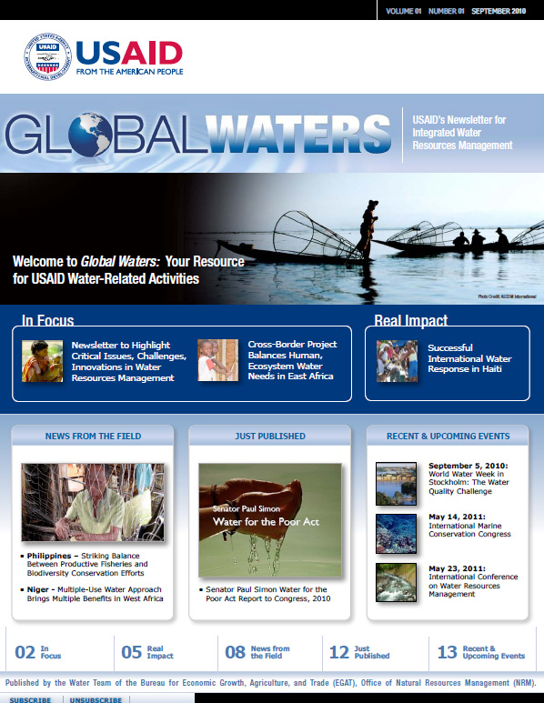 Global Waters – September 2010, PDF
