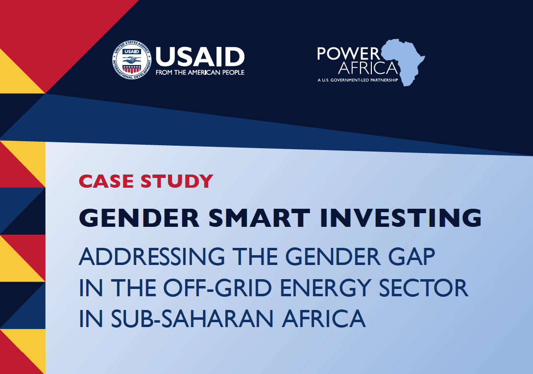 Power Africa Gender Smart Investing Case Study - February 2021