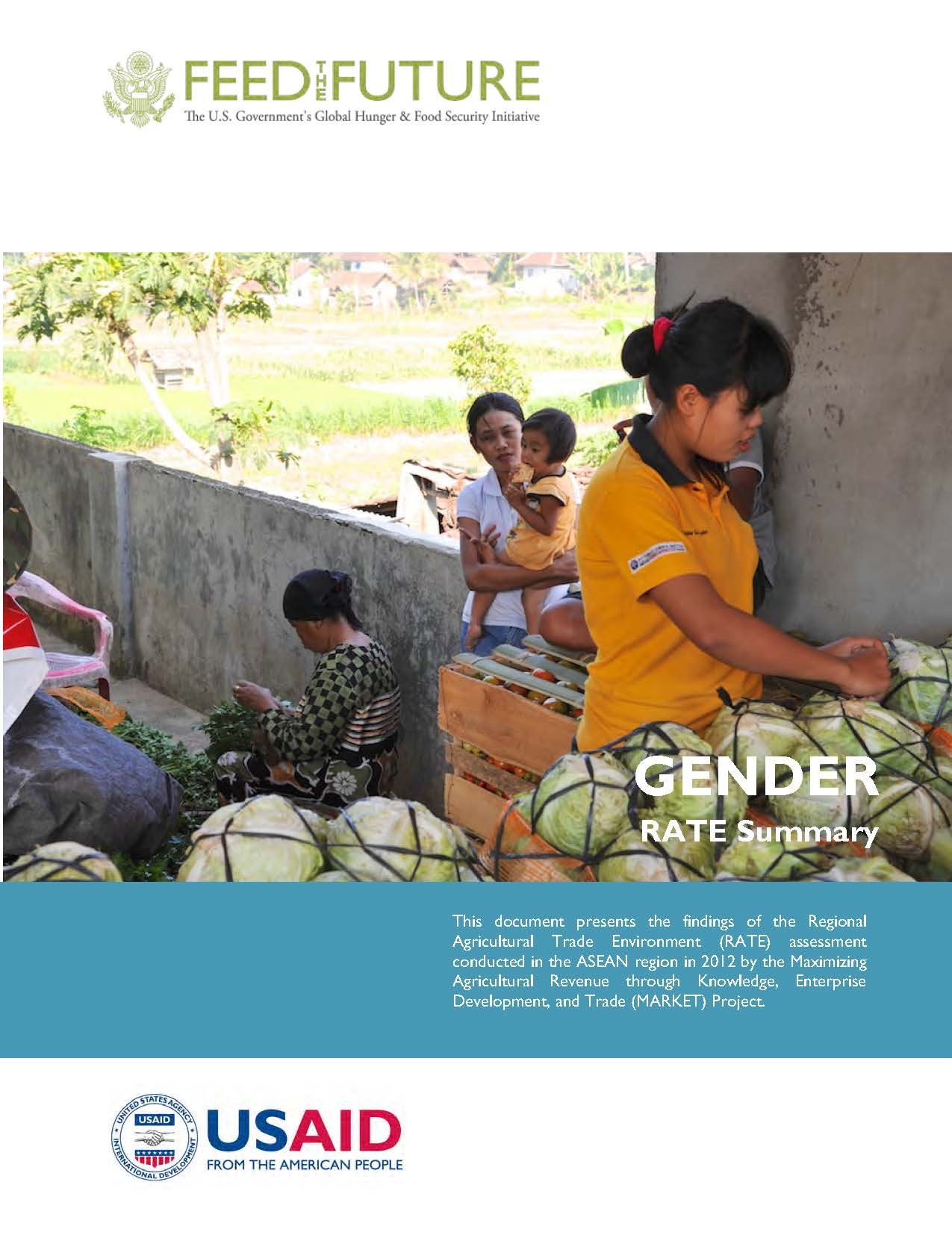 ASEAN Regional Agricultural Trade Environment Assessment Reports: Gender