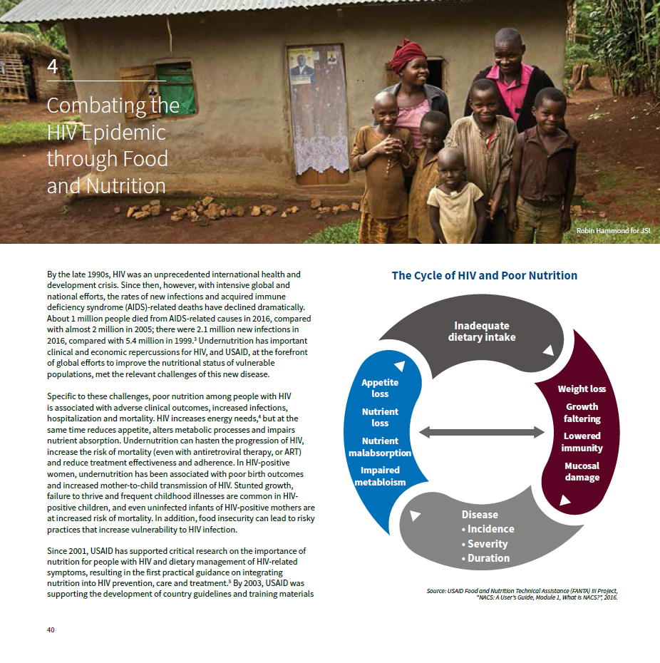 The History of Nutrition at USAID: Chapter 4
