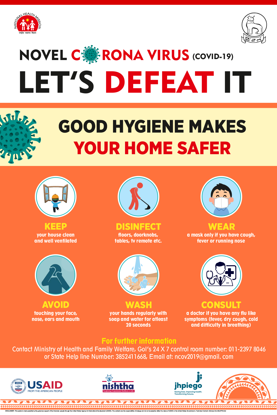 Good Hygiene Makes Your Home Safer.