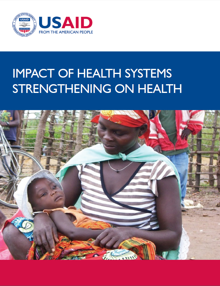 Impact Of Health Systems Strengthening On Health cover image