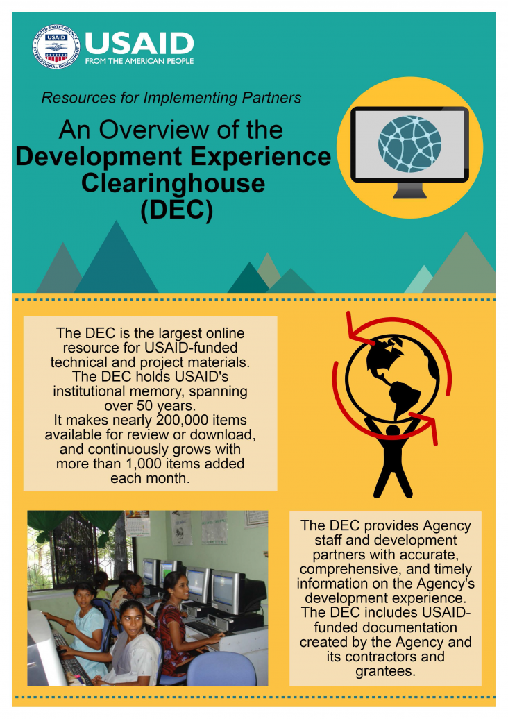 Infographic: An Overview of the Development Experience Clearinghouse (DEC)