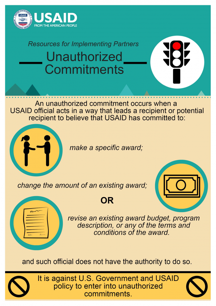Infographic: Unauthorized Commitments