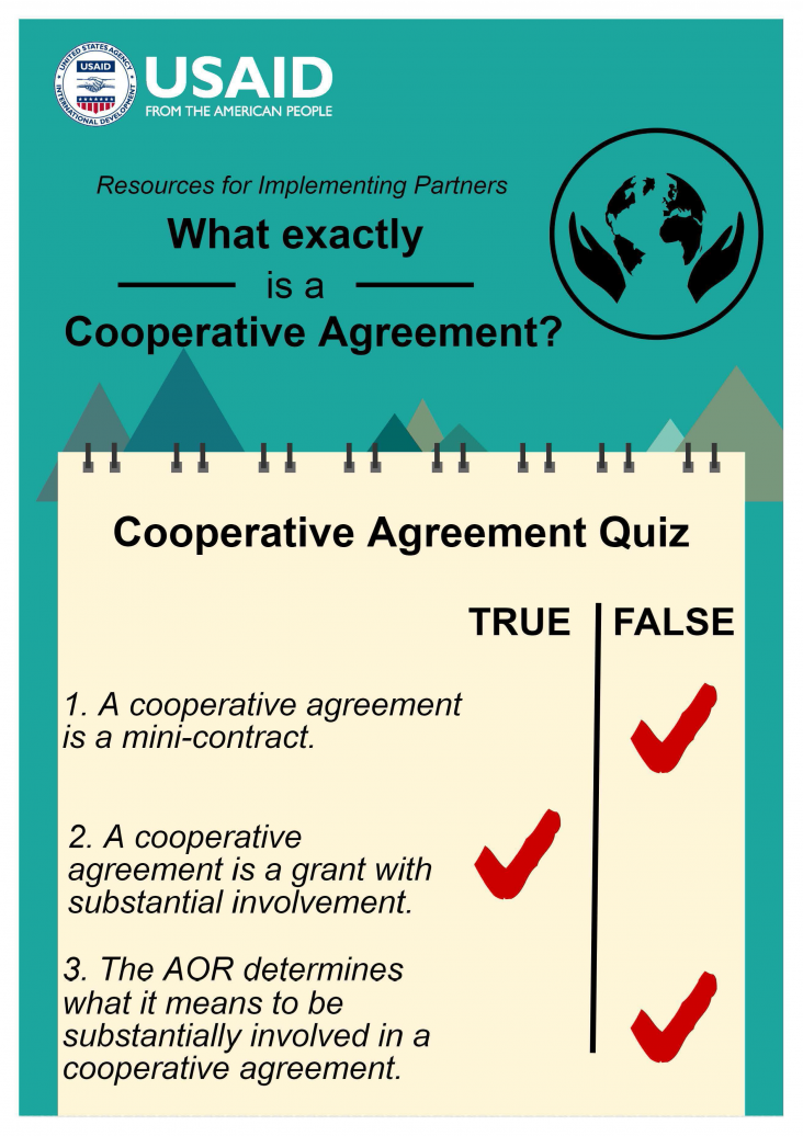 Infographic What Exactly Is A Cooperative Agreement Resources