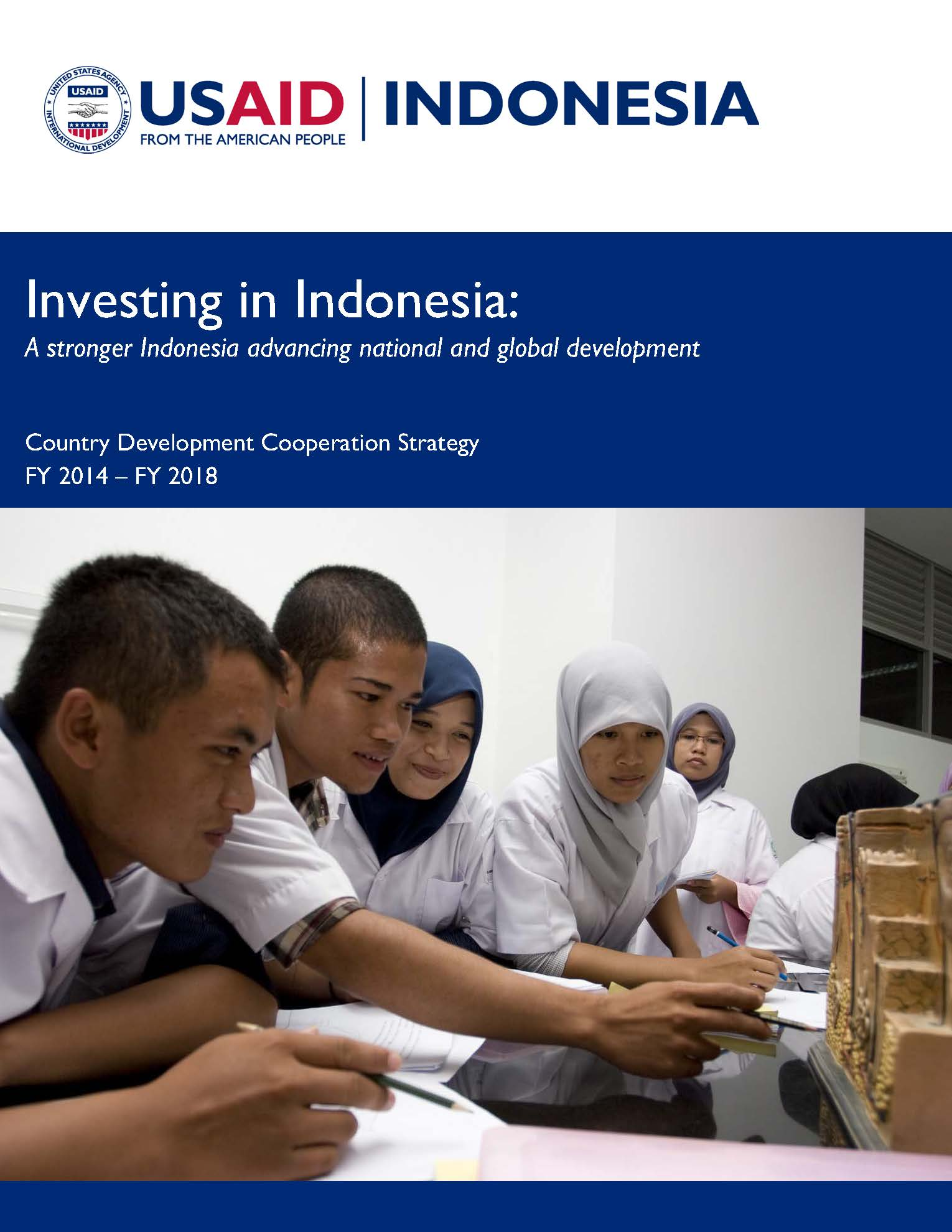 Indonesia Country Development Cooperation Strategy 2014-2018