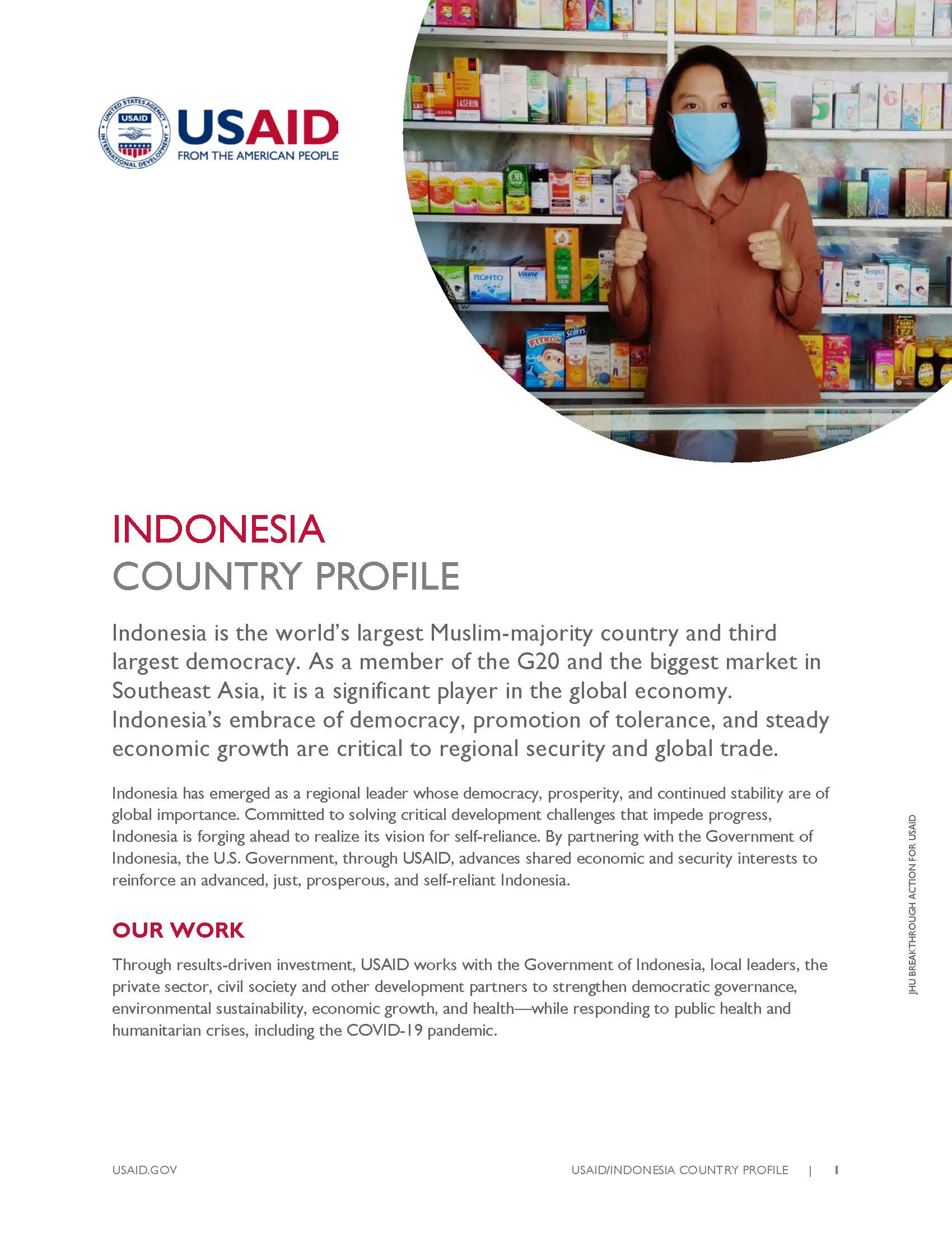 Indonesia Country Profile 2021