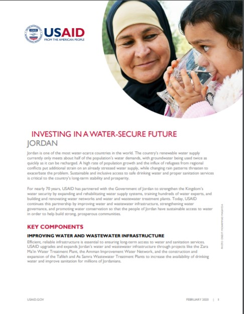 Fact Sheet: Investing In a Water-Secure Future