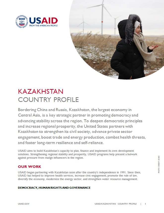 Kazakhstan Country Profile