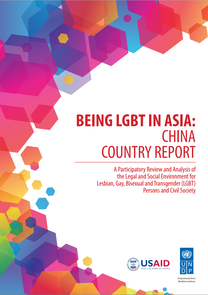 Being LGBT in Asia: China Country Report