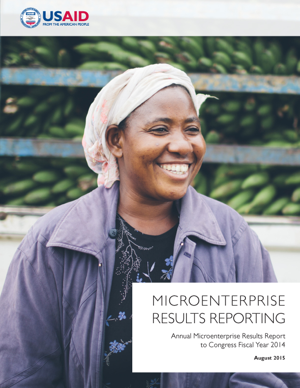 Annual Microenterprise Results Report to Congress Fiscal Year 2014