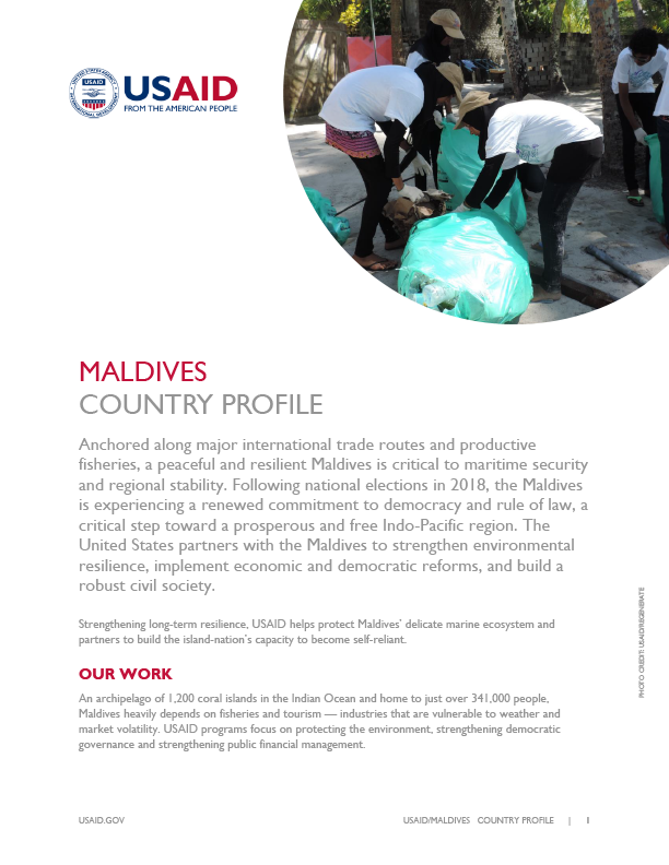 Maldives Country Profile - September 2019