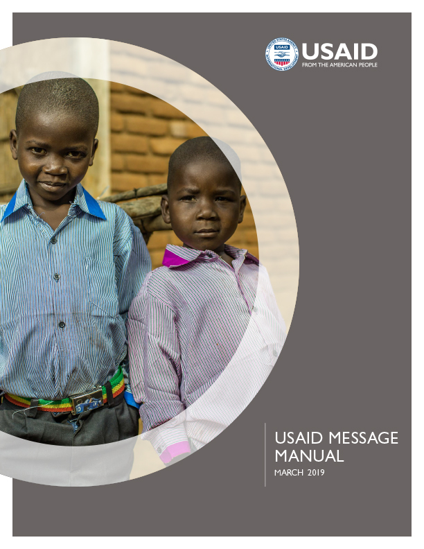 USAID Message Manual - March 2019