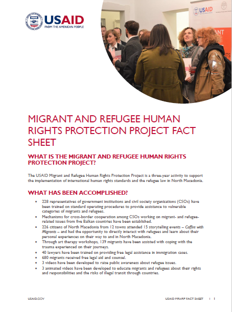 Migrant and Refugee Human Rights Protection Project Fact Sheet