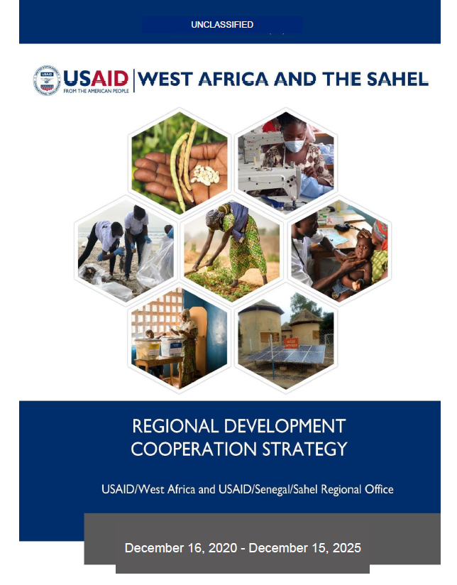West Africa & the Sahel Regional Development Cooperation Strategy