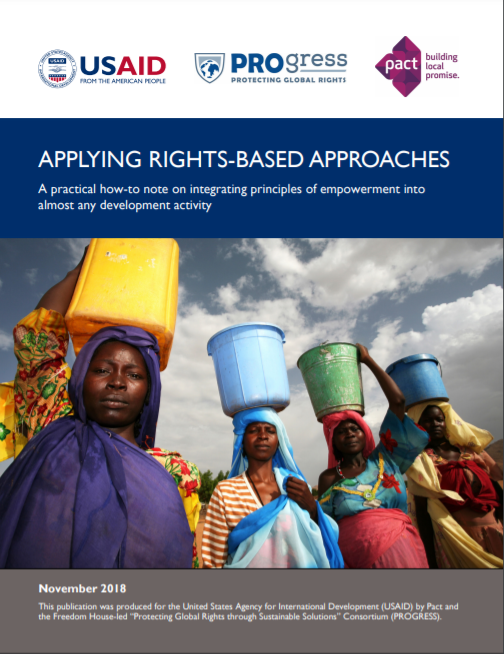 Applying Rights-Based Approaches