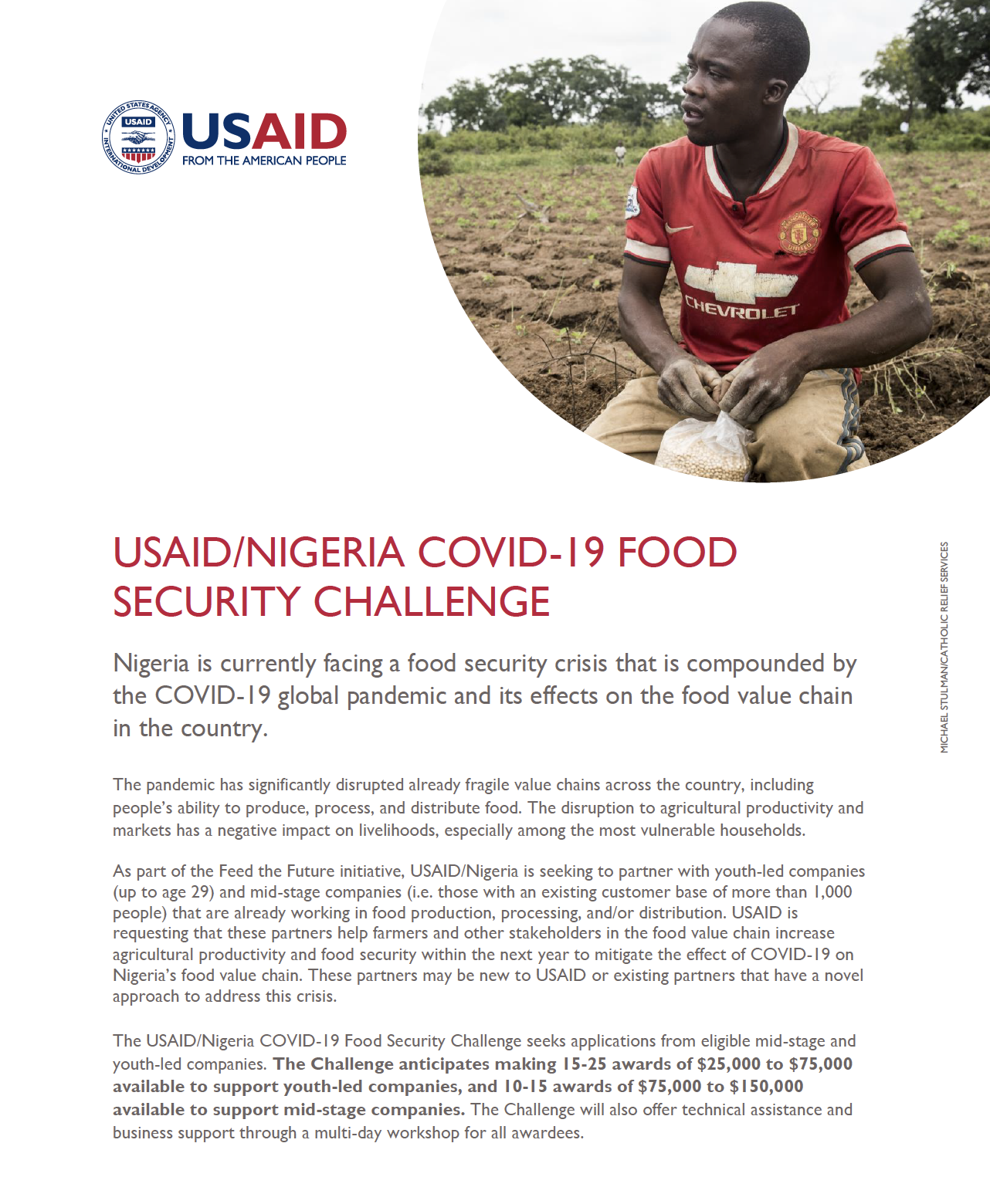 USAID/NIGERIA COVID-19 Food Security Challenge - Fact Sheet