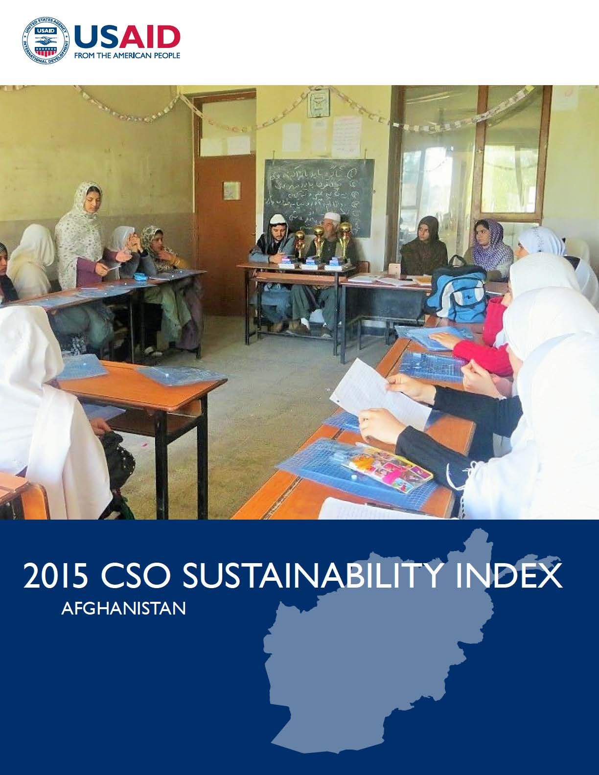 2015 CSO Sustainability Index (CSOSI) for Afghanistan