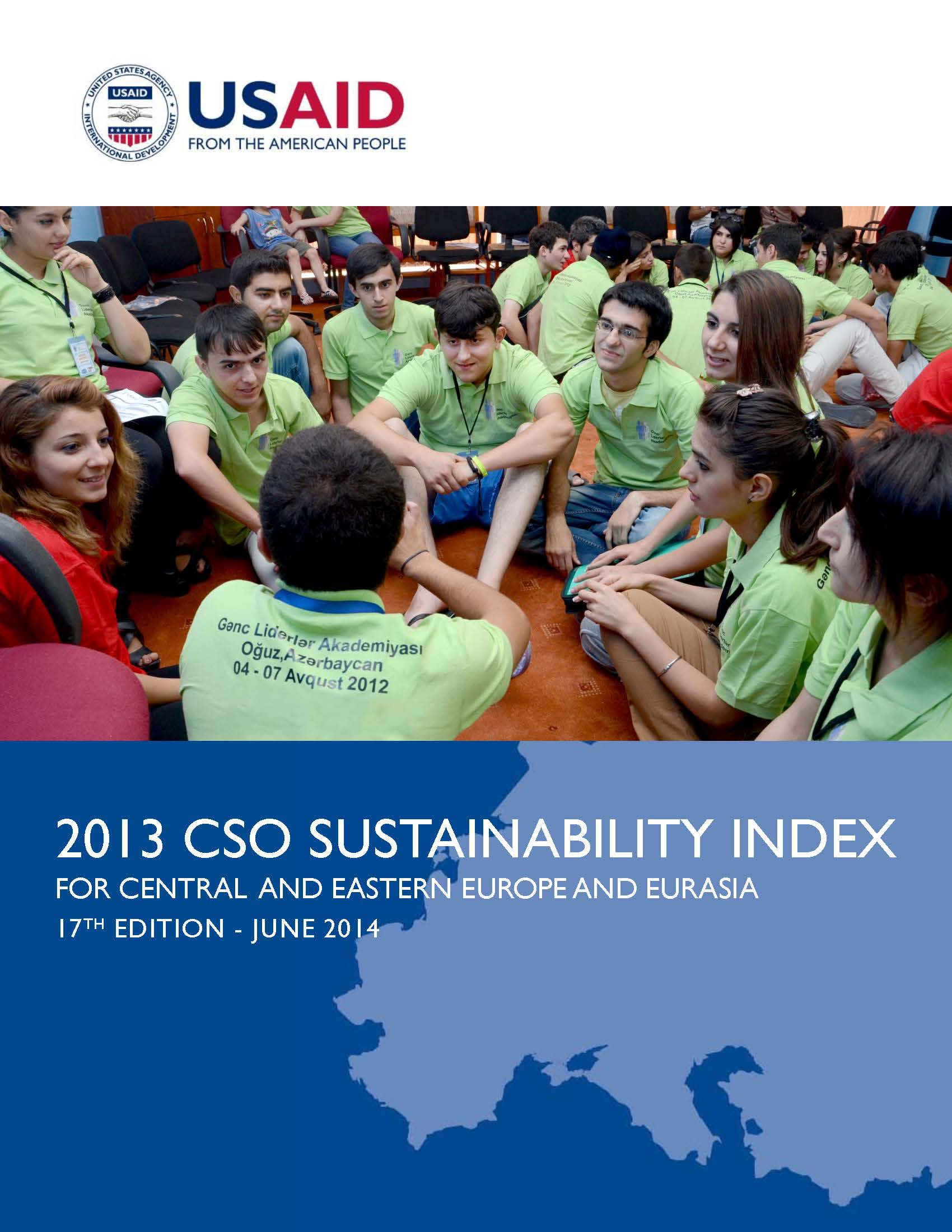 2013 CSO Sustainability Index for Central and Eastern Europe and Eurasia