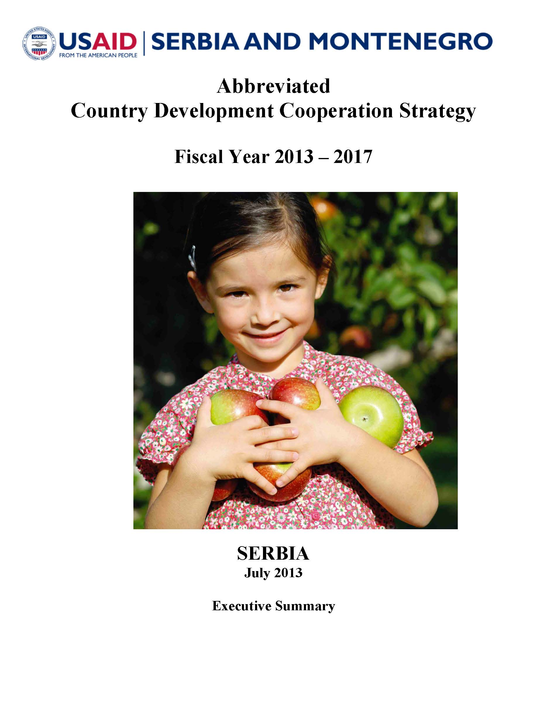 Abbreviated Country Development and Cooperation Strategy