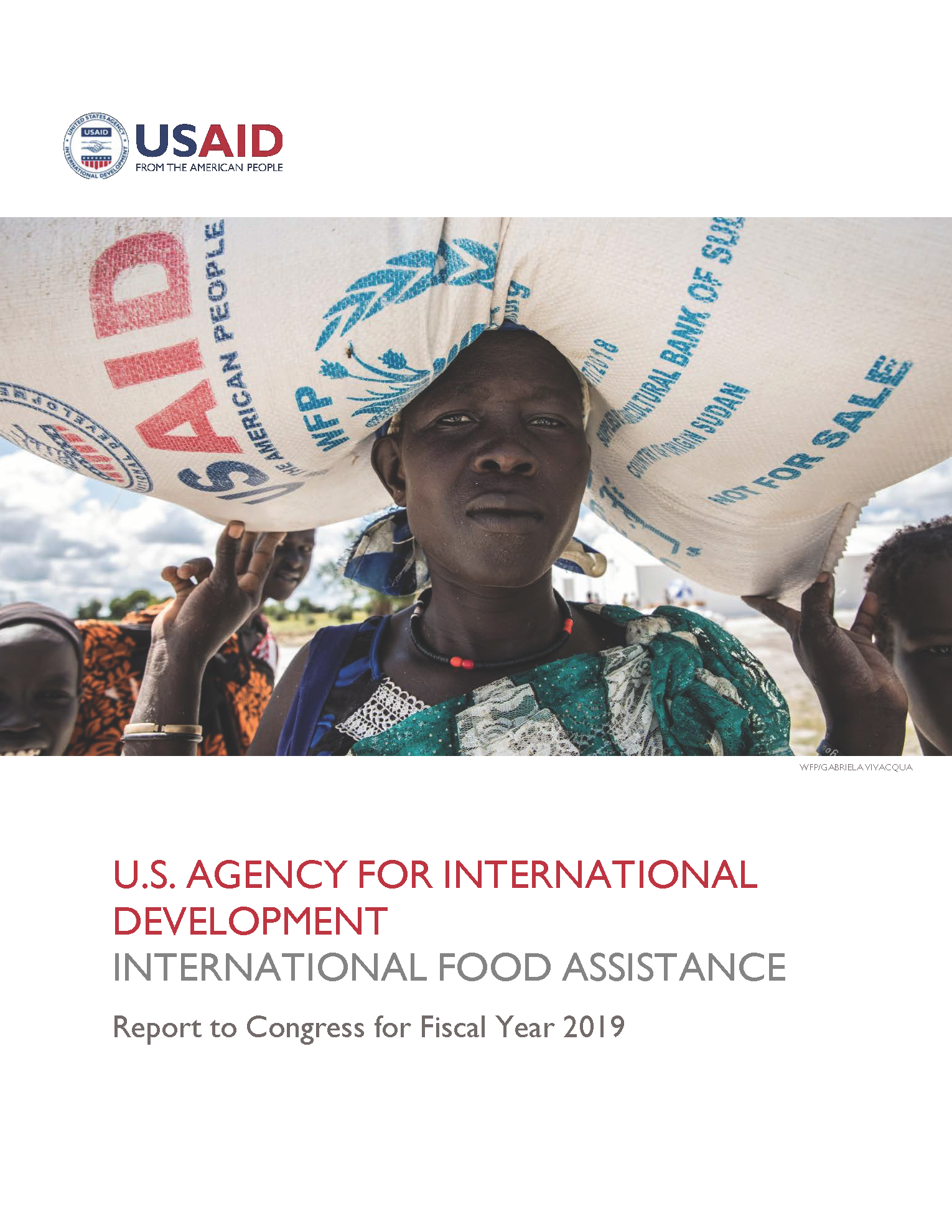 USAID International Food Assistance Report, FY 2019