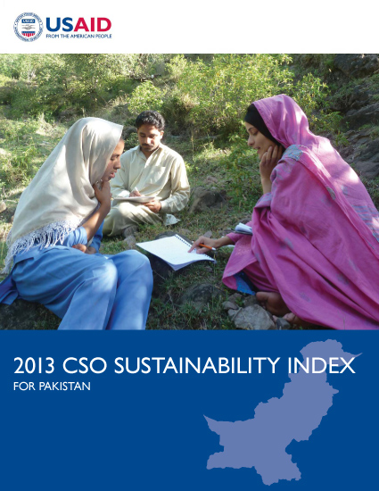 2013 CSO Sustainability Index (CSOSI) for Pakistan