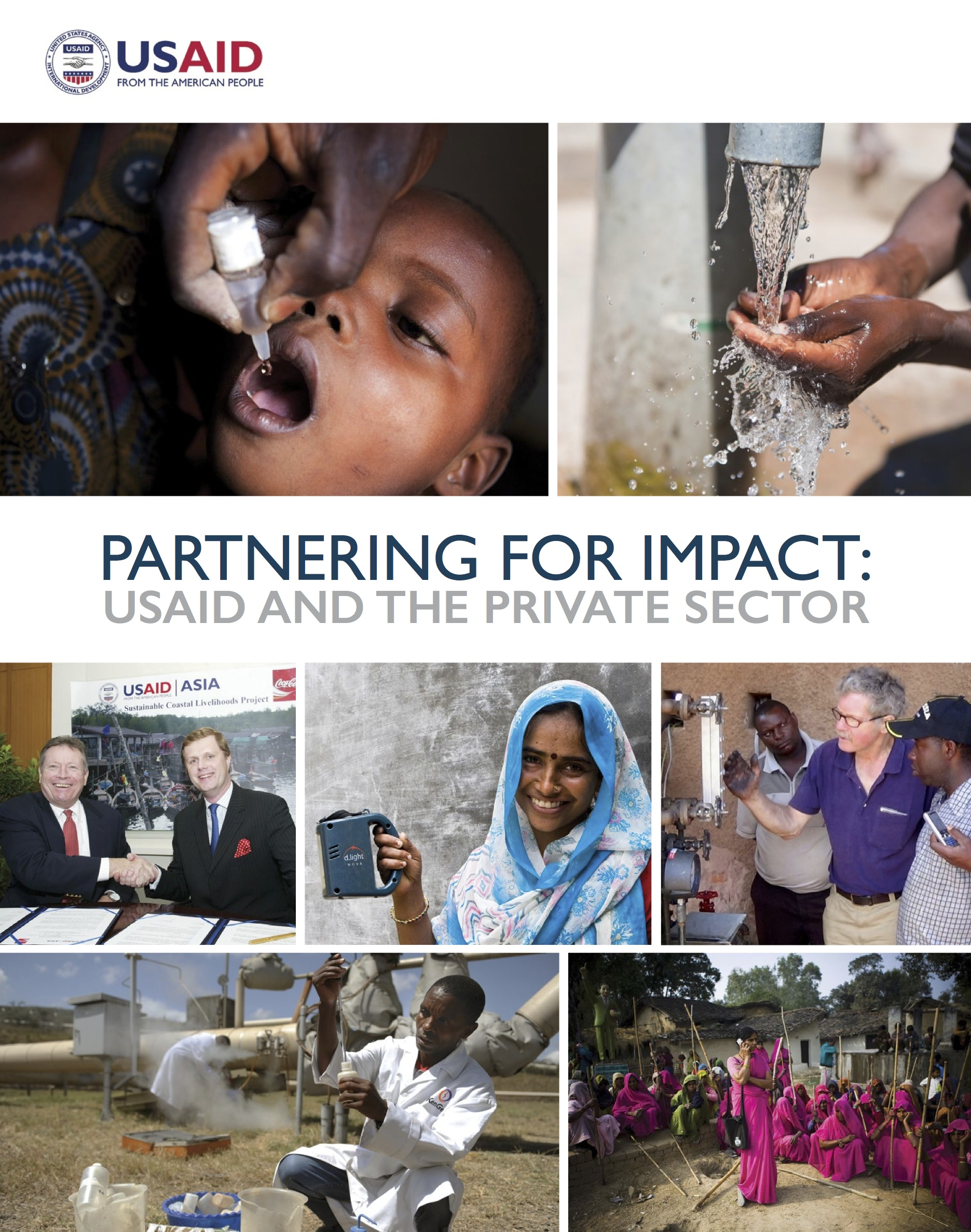 Partnering for Impact: USAID and the Private Sector