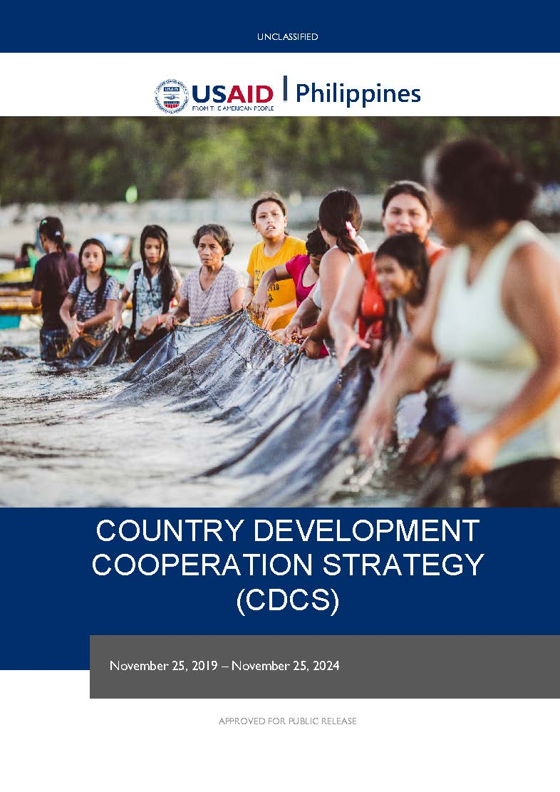 Philippines Country Development Cooperation Strategy 2019-2024