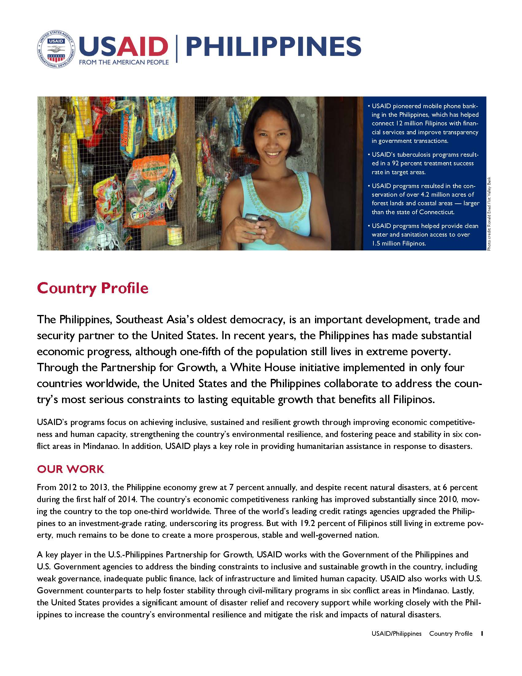 Philippines Country Profile