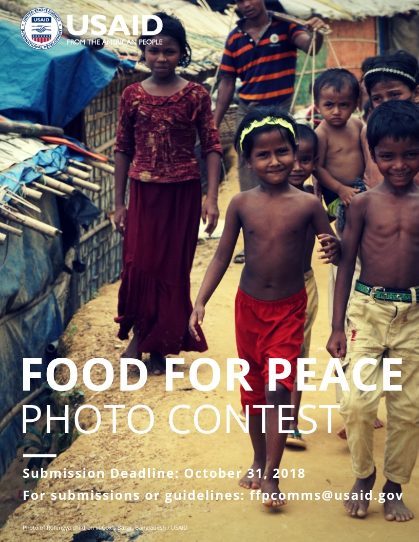 Food for Peace Photo Contest Flyer