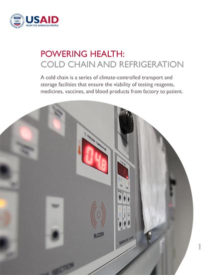 Powering Health: Cold Chain and Refrigeration