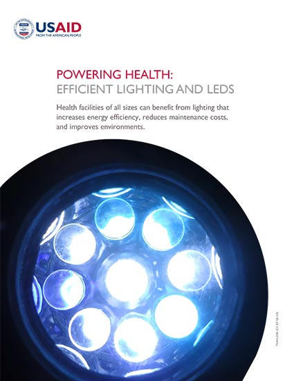 Powering Health: Efficient Lighting and LEDs