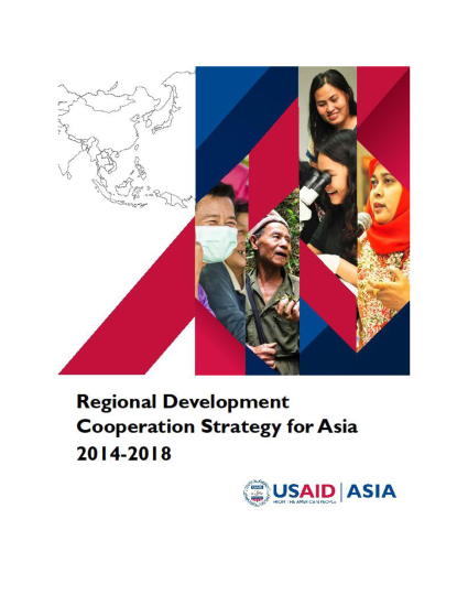 Regional Development Mission for Asia (RDMA) CDCS 2014-2018