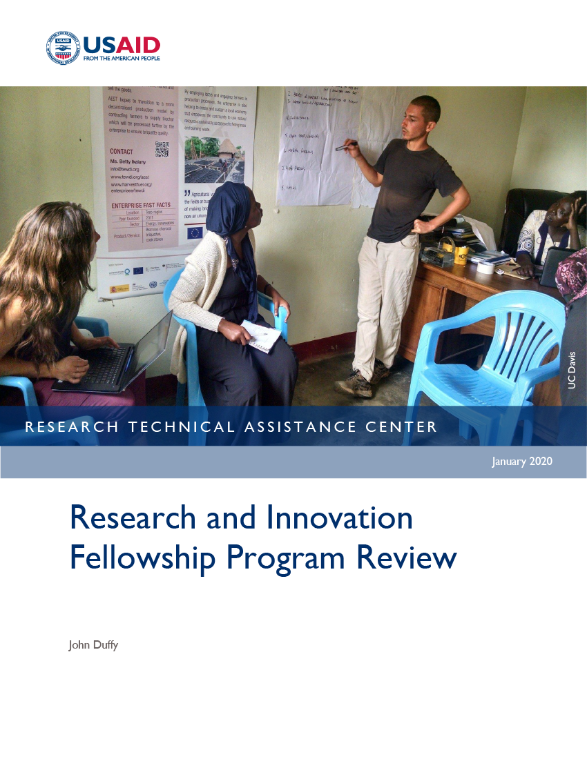 Research and Innovation Fellowship Program Review