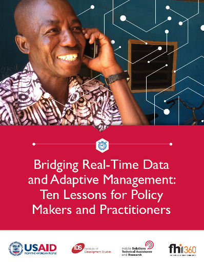 Bridging Real-Time Data and Adaptive Management: Ten Lessons for Policy Makers and Practitioners