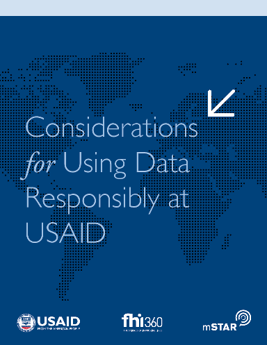 Considerations for Using Data Responsibly at USAID