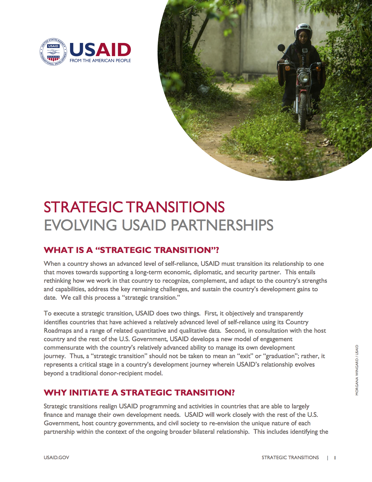 Strategic Transitions Fact Sheet
