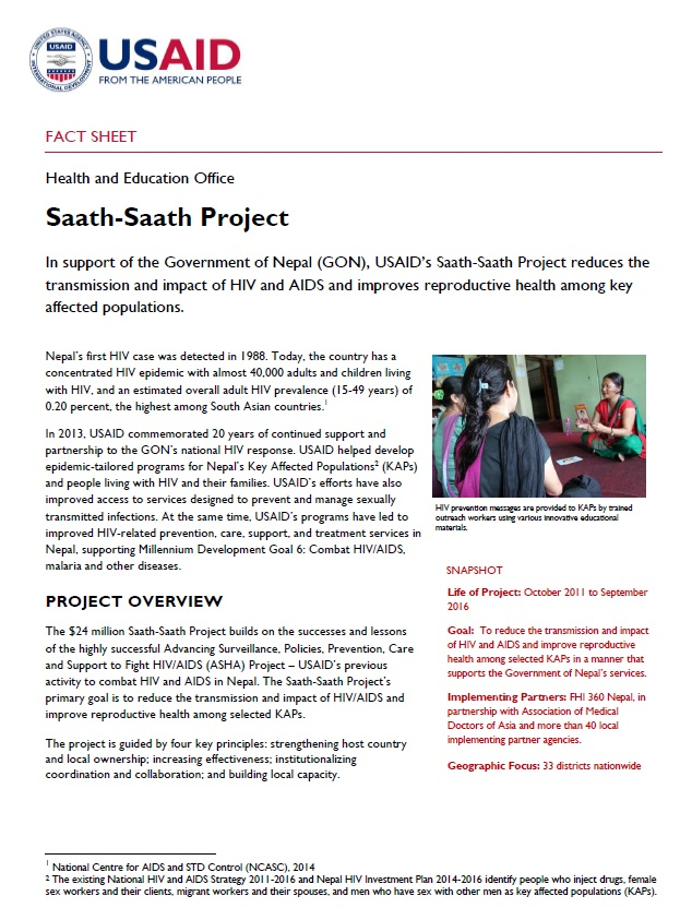 Saath-Saath Project