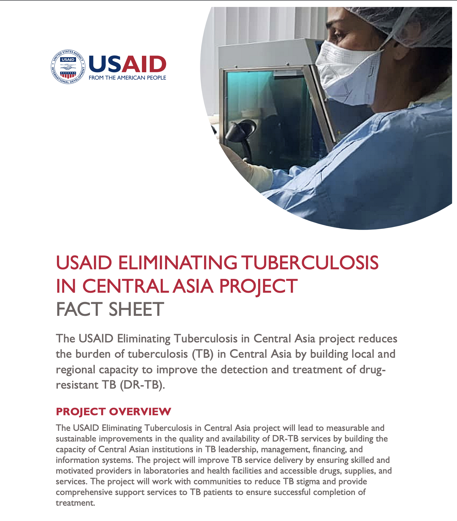 USAID Eliminating Tuberculosis in Central Asia