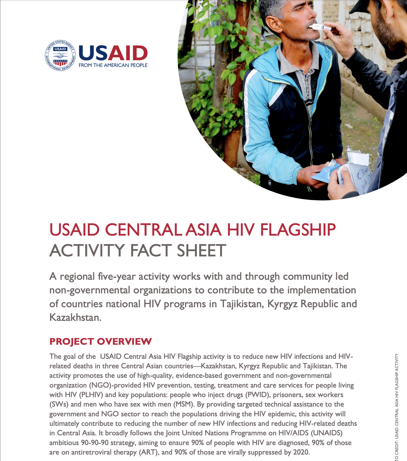 USAID Central Asia HIV Flagship Activity