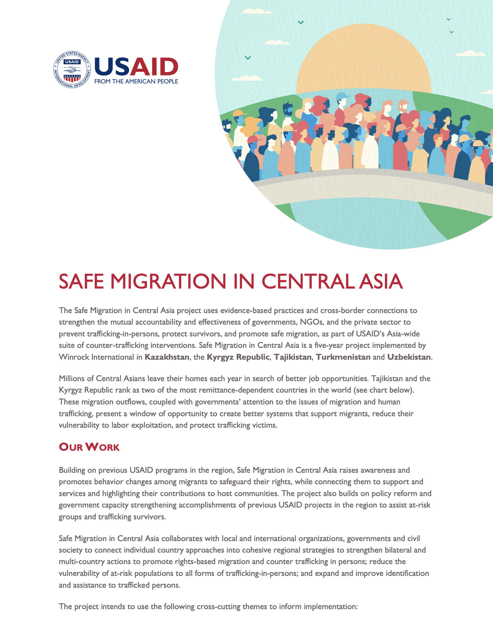 Safe Migration in Central Asia - Updated August 2020