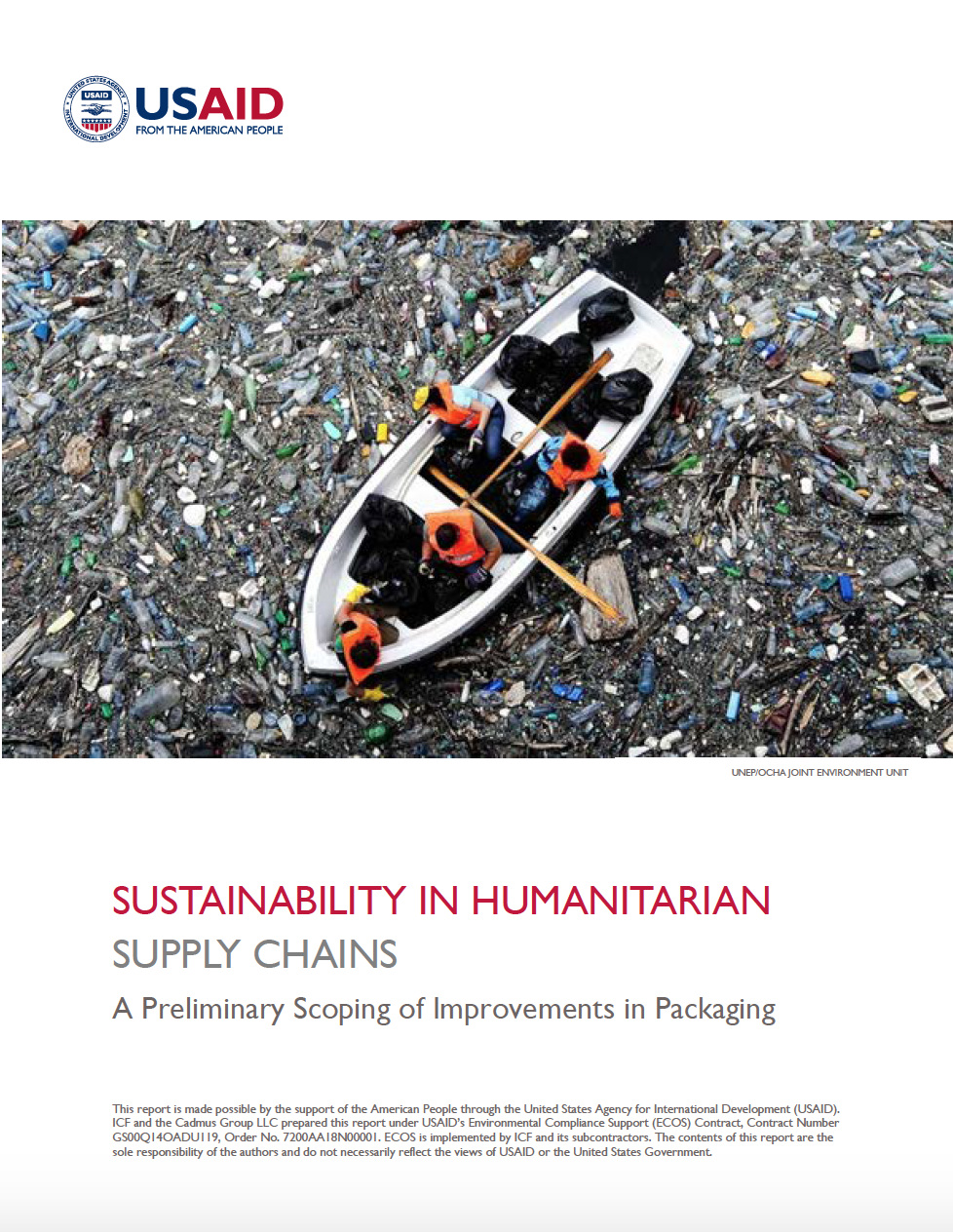Sustainability in Humanitarian Supply Chains: A Preliminary Scoping of Improvements in Packaging Waste Management