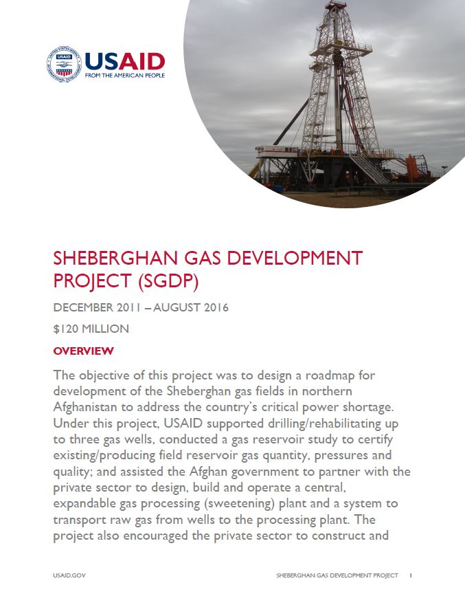 Sheberghan Gas Development Project (SGDP)