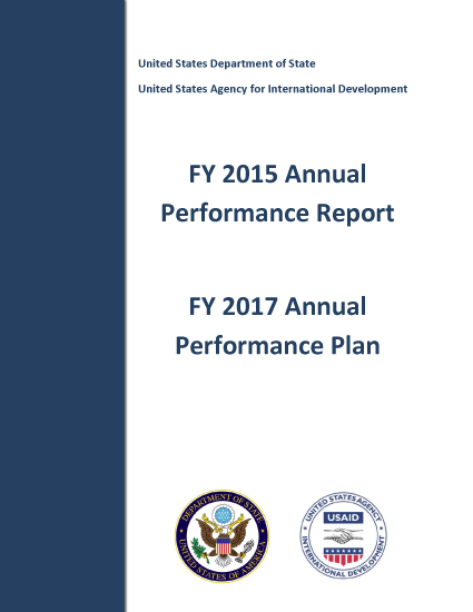 FY 2015 Annual Performance Report and FY 2017 Annual Performance Plan