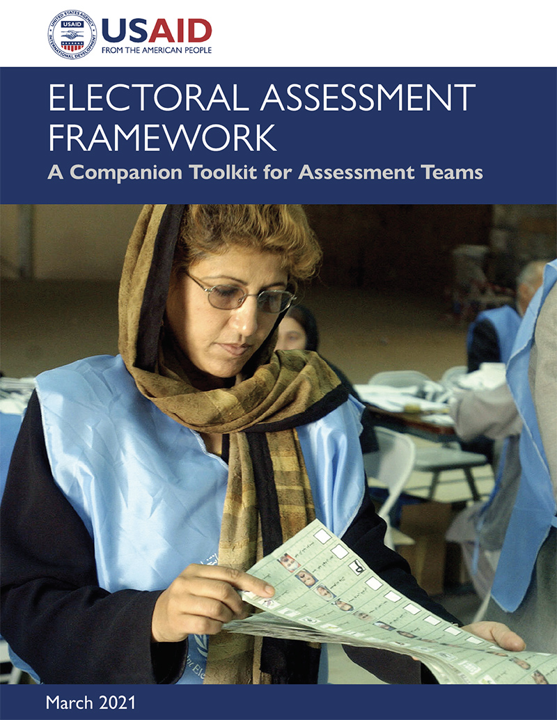 The Electoral Assessment Framework: A Companion Toolkit for Assessment Teams