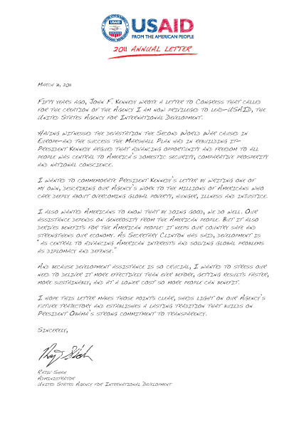 2011 Annual Letter