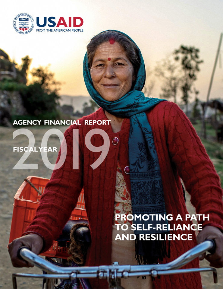 FY 2019 Agency Financial Report: Promoting A Path To Self-Reliance And Resilience