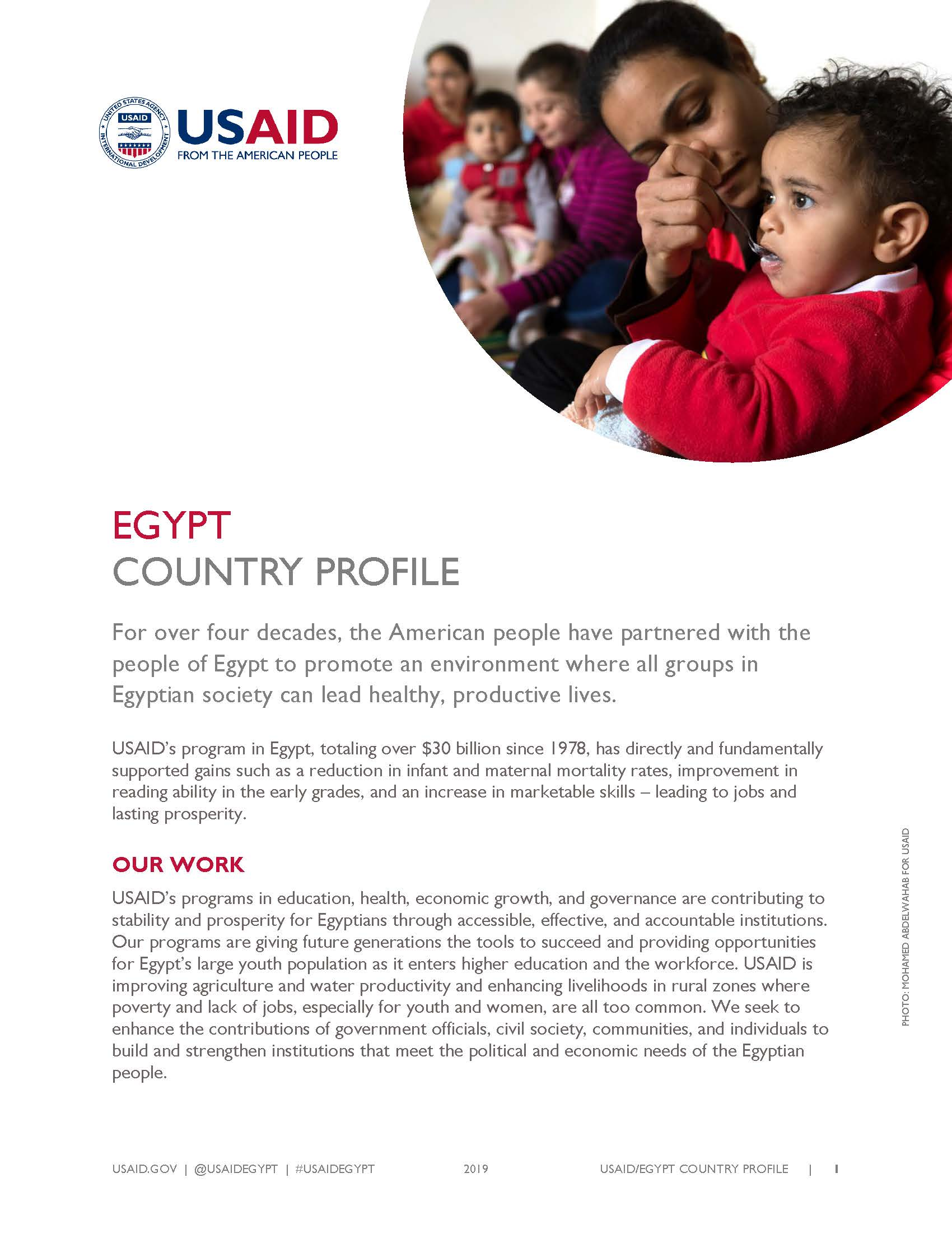 USAID/Egypt Country Profile